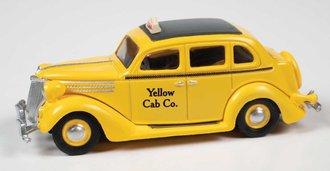 1936 Ford Sedan Taxi (Yellow)