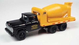 "1960 Ford Cement/Concrete HD Truck ""Tidewater Concrete"" (BlackYellow)"
