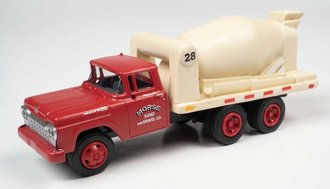"1960 Ford Cement/Concrete HD Truck ""Morse Sand & Gravel"" (Red/White)"