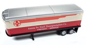 """AeroVan Trailer """"Santa Fe"""" (Silver)"""