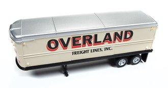 """AeroVan Trailer """"Overland Freight"""" (Cream White)"""