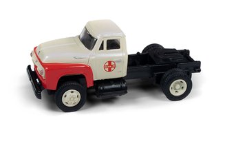 "1954 Semi Tractor ""Santa Fe"" (Cream White/Red)"