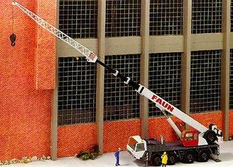 Faun 4-Axle Mobile Crane
