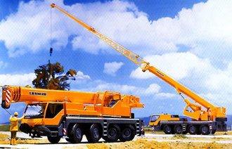 Liebherr LTM 1160/2 4-Axle Crane