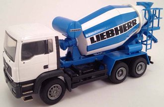 "MAN HTM704 Cement Mixer ""Liebherr"" (Blue/White)"