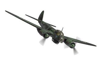 Junkers Ju88A-5 - 9K+ED, Stab III./KG51, Winter 1940