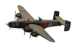 1:72 Handley Page Halifax B.III - LV937/MH-E 'Expensive Babe', RAF No.51 Sqd, Snaith, March 1945