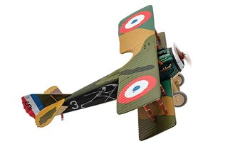 Spad XIII 'White 3', Pierre Marinovitch, Escadrille Spa 94 'The Reapers'