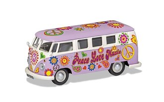 "VW Campervan ""Peace Love and Music"""