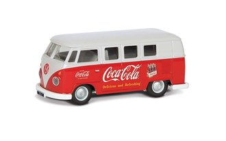 "1960's (Early) VW Camper ""Coca-Cola"""