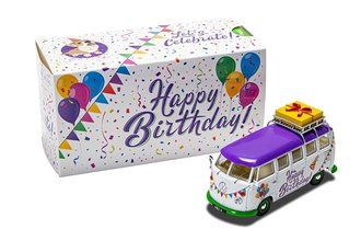 "VW Camper ""Happy Birthday"""