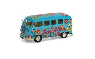 "VW Campervan ""Peace Love and Freedom"""