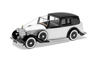 Rolls-Royce Phantom III Wedding Car (White/Black)