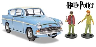"1:43 Harry Potter Mr Wesley's Enchanted Ford Anglia ""Harry Potter and the Chamber of Secrets"""