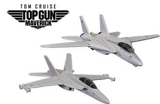 Maverick & Goose's F14 (Top Gun - 1986) & Rooster's F18 (Top Gun Maverick - 2020)