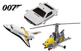 James Bond Collection - Space Shuttle, Little Nellie & Lotus Esprit