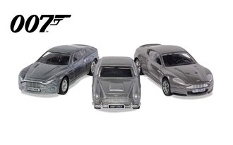 James Bond Aston Martin Collection - V12 Vanquish, DB5 & DBS