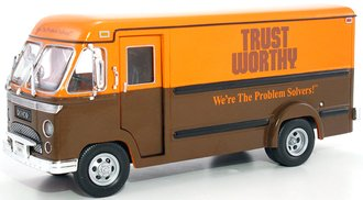 "1961 Divco Model 70 Dividend Step Van ""Trust Worthy"" (Brown/Orange) (Bank)"