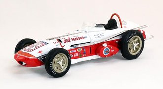 """1962 Watson Roadster """"Indianapolis 500 Winner"""" (White/Red)"""