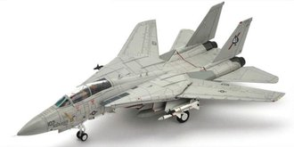 F-14A Tomcat, AJ107, VF-41 Black Aces, Gulf of Sidra, 1991