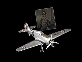 """P-36A Hawk USAAC 15th Pg, 46th Ps, """"Black 86"""", Philip Rasmussen"""
