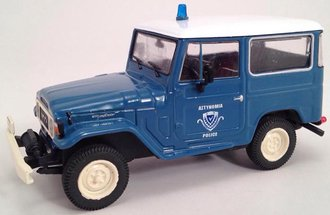 Toyota Land Cruiser FJ40 (Blue/White)