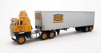 "1:64 International Transtar II COE w/40' Van Trailer ""Crouse Cartage Company"""