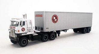 "1:64 International Transtar II COE w/40' Van Trailer ""Johnson Motor Lines"""