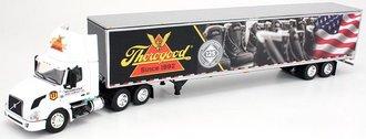 "1:64 Volvo VNL300 Day Cab w/Van Trailer ""Thorogood Shoes 125th Anniversary"""