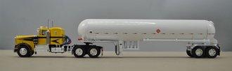 "Kenworth W900A 36"" Sleeper w/Mississippi Propane Tanker (Yellow/Black)"