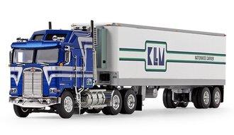 "Kenworth K100 COE Aerodyne w/Reefer Trailer ""KLLM Transport Services"""