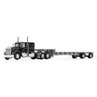 "Kenworth W900A 60"" Flat Top Sleeper w/Transcraft Stepdeck Trailer ""IMT Transport"""
