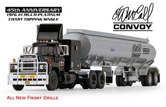 "1:64 Mack R Model Sleeper Cab w/42' Fuel Tanker Trailer ""R.D. Trucking - Convoy 45th Anniversary"""
