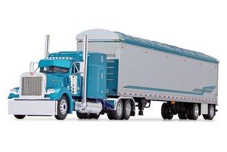 "Peterbilt 379 w/63"" Mid-Roof Sleeper & 53' Walking Floor Trailer ""Pyskaty Bros. Trucking"""