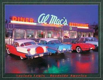 Tin Sign - Lewis - Al Mac's Diner