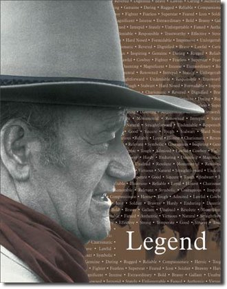 Tin Sign - John Wayne - Legend