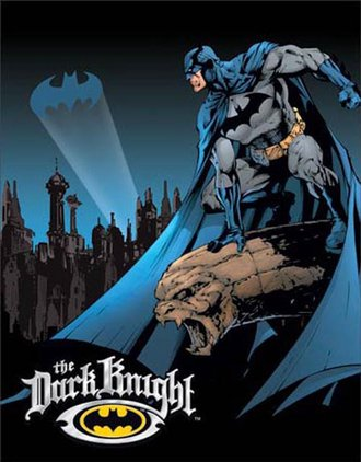 Tin Sign - Batman - The Dark Knight