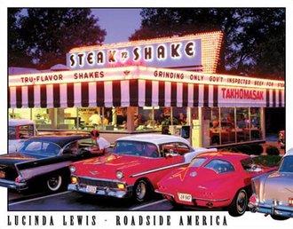 Tin Sign - Lewis - Steak 'n Shake Diner