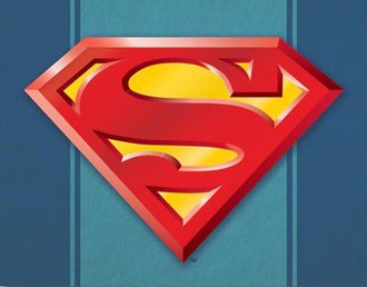 Tin Sign - Superman Logo