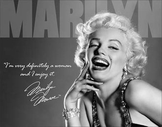 Tin Sign - Marilyn Monroe - Definately
