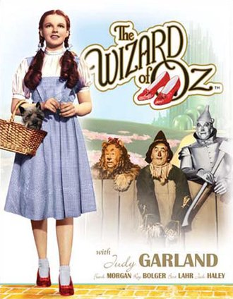 Tin Sign - Wizard of Oz - Dorothy & Toto