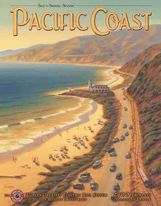 Tin Sign - Erickson - Pacific Coast