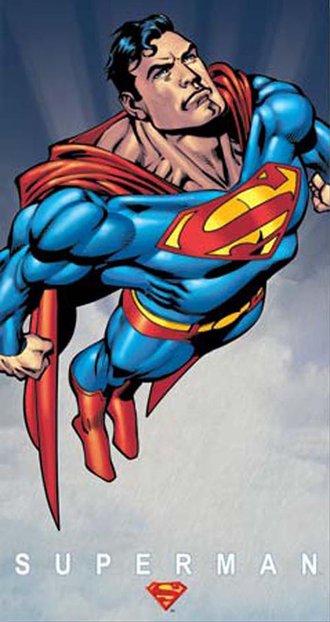 Tin Sign - Superman - Classic