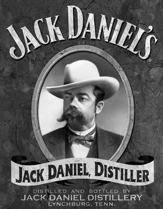 Tin Sign - Jack Daniel's - Portrait