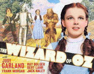 Tin Sign - Wizard of Oz - Yellow Brick Road