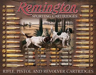 Tin Sign - Remington - Bullet Board