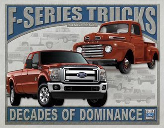 Tin Sign - Ford - F-Series Trucks