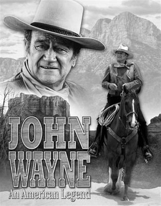 Tin Sign - John Wayne American Legend