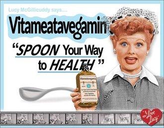 Tin Sign - Lucy - Vitameatavegamin Episode