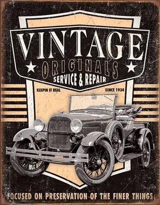 Tin Sign - Vintage Originals - Pickup Truck